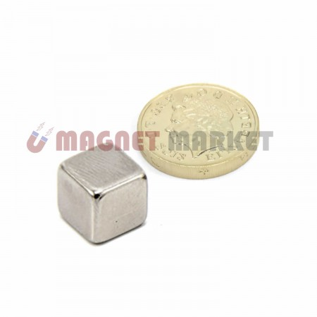 Boy 10mm X En 10mm X Kalınlık 10mm Neodymium Magnet