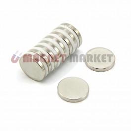 Çap 20mm X Kalınlık 3mm Neodymium Magnet