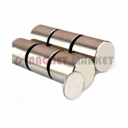 Çap 30mm X Kalınlık 30mm Neodymium Magnet
