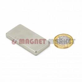 Boy 40mm X En 20mm X Kalınlık 5mm Neodymium Magnet