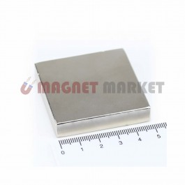 Boy 50mm X En 50mm X Kalınlık 10mm Neodymium Magnet