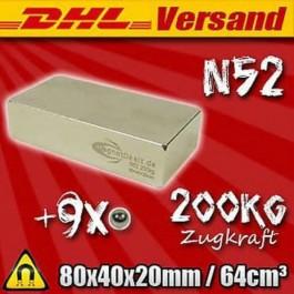JUMBO BOY - ÇOK BÜYÜK - ÇOK TEHLİKELİ 80mmX40mmX20mm (N-52)