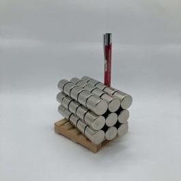 Çap 20mm X Kalınlık 20mm Neodymium Magnet