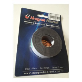 ŞERİT MAGNET/2mm/kısa boy(sm2)