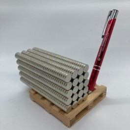 Çap 10mm X Kalınlık 3mm Neodymium Magnet