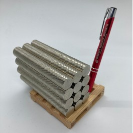 Çap 15mm X Kalınlık 1.4mm Neodymium Magnet