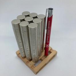 Çap 17mm X Kalınlık 3mm Neodymium Magnet
