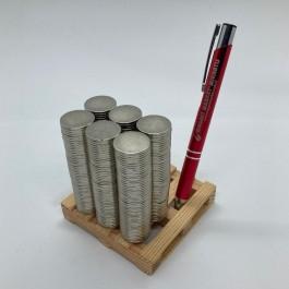 Çap 20mm X Kalınlık 1,5mm Neodymium Magnet