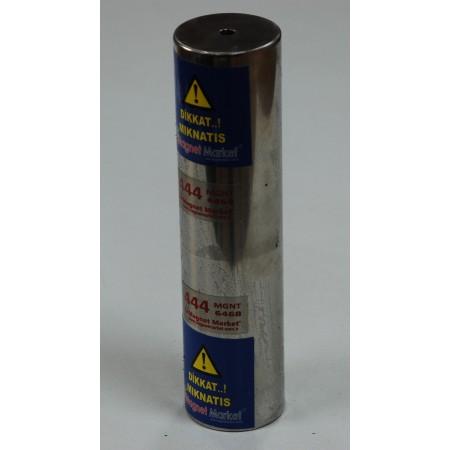 Boy 200mm X Çap 50mm X Delik Metrik 8mm,Boru Neodymium Magnet