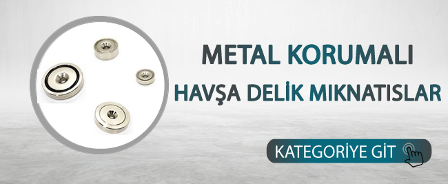 Metal Korumalı Havşa Delikler