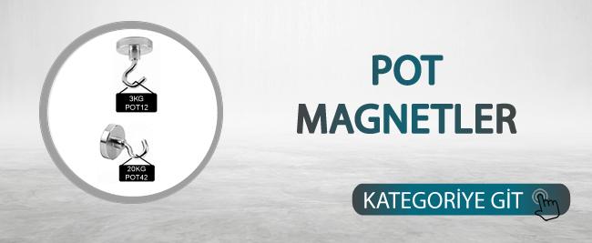 Pot Magnetler