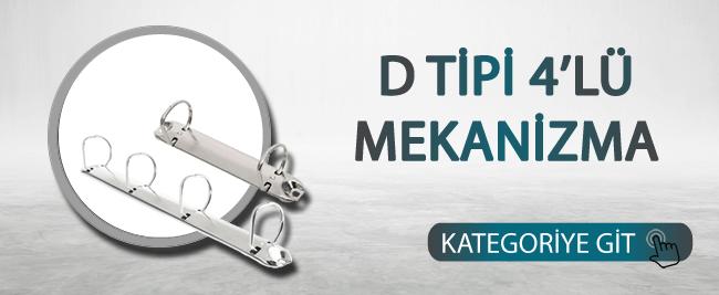 D Tipi 4'lü Mekanizma