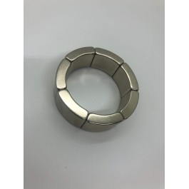 R25XR29X15X53,2X6 MM YARIM AY -NEODYUM MAGNET (1 SET 7 ADET)