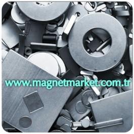 Boy 10mm X En 5mm X Kalınlık 1.5mm Neodymium Magnet