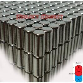 Çap 5mm X Kalınlık 10mm Neodyum Mıknatıs