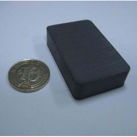 Y-30 Boy 40mm X En 25mm X Kalınlık 10mm/Oxit Magnet