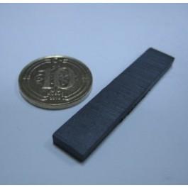 Y-30 Boy 40mm X En 8mm X Kalınlık 3mm/Oxit Magnet